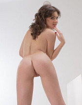 Desirable brunette makes herself wet with a toy 2