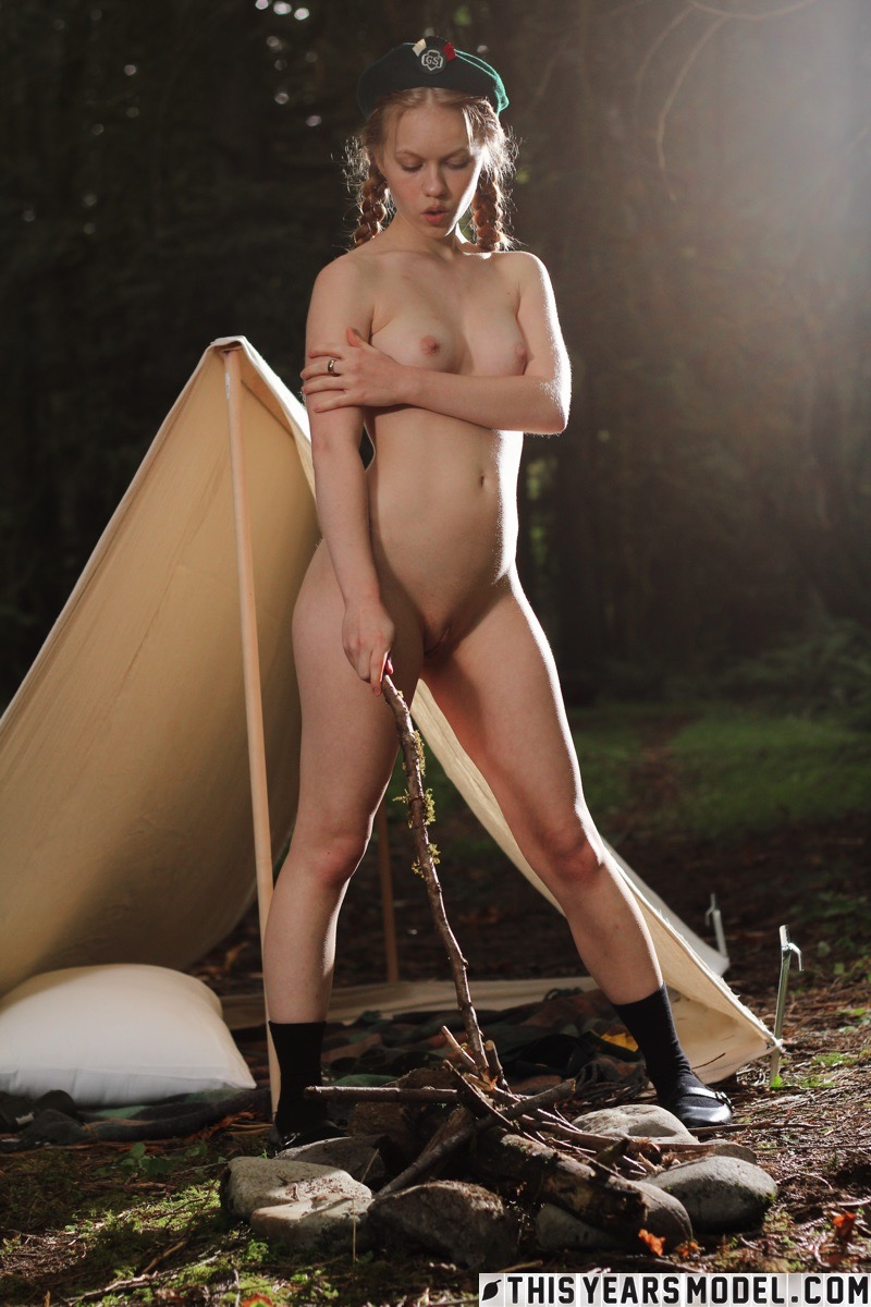 girl scout leader nude