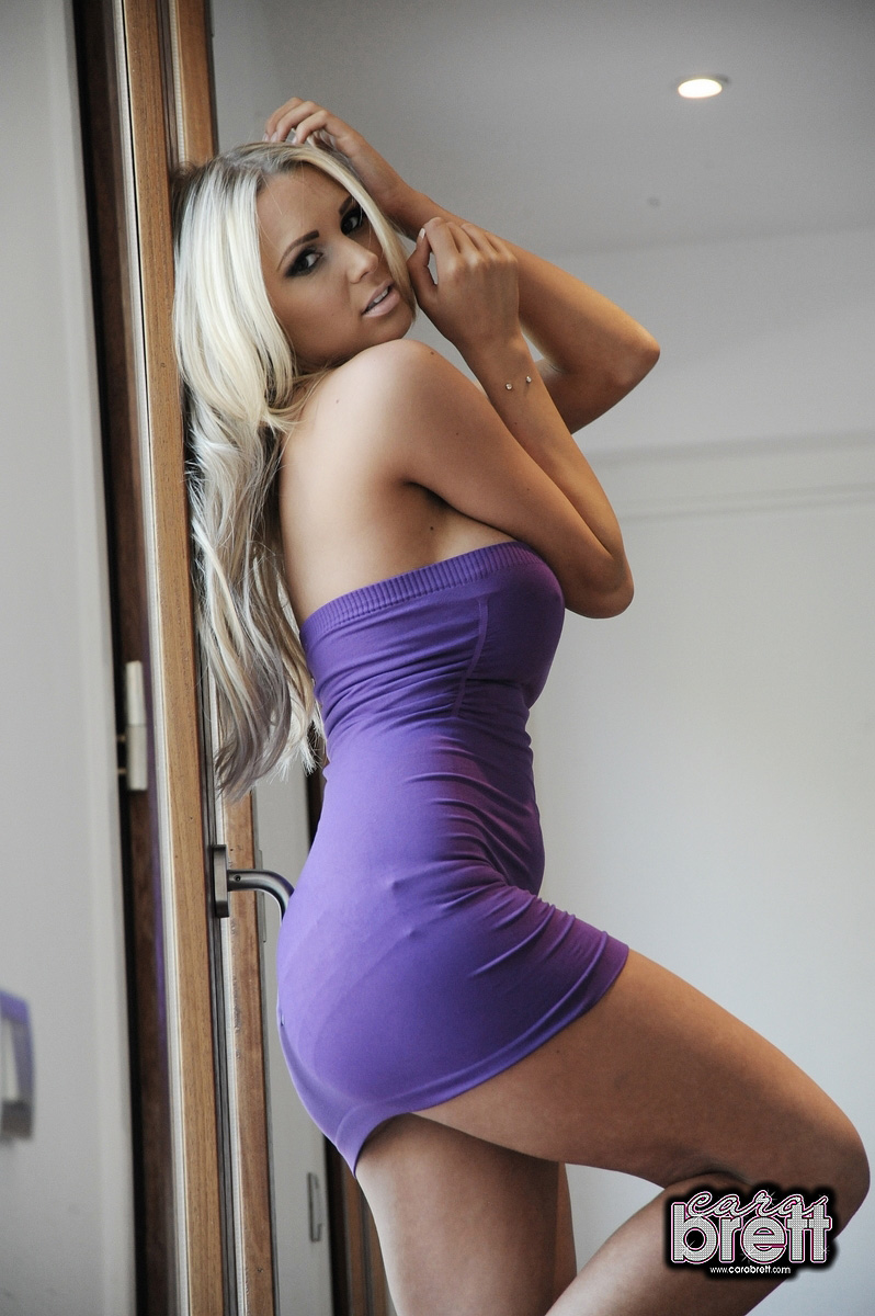 Cara Brett Is A Stunning Blonde From England With An Amazing Large
