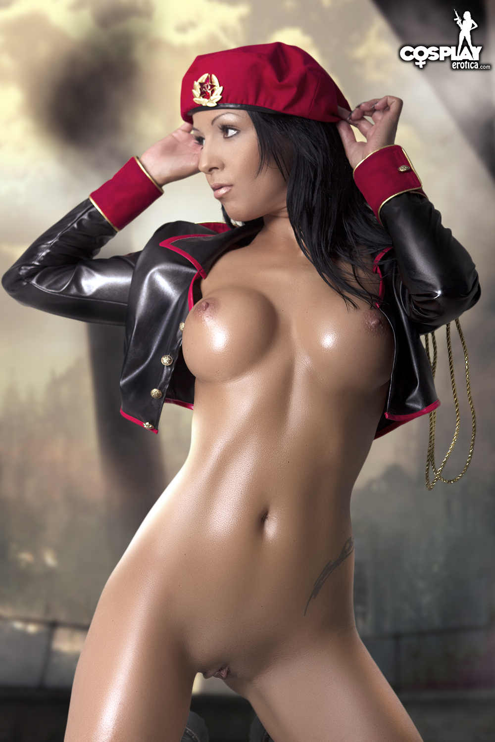 Hot Sexy Cosplay Girl Nude