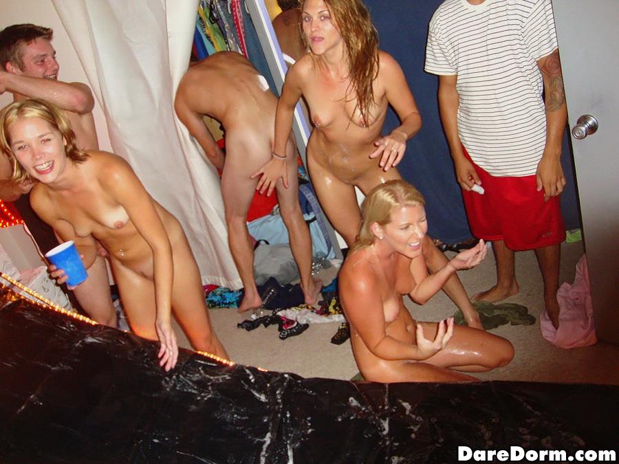 College dare dorm girl room