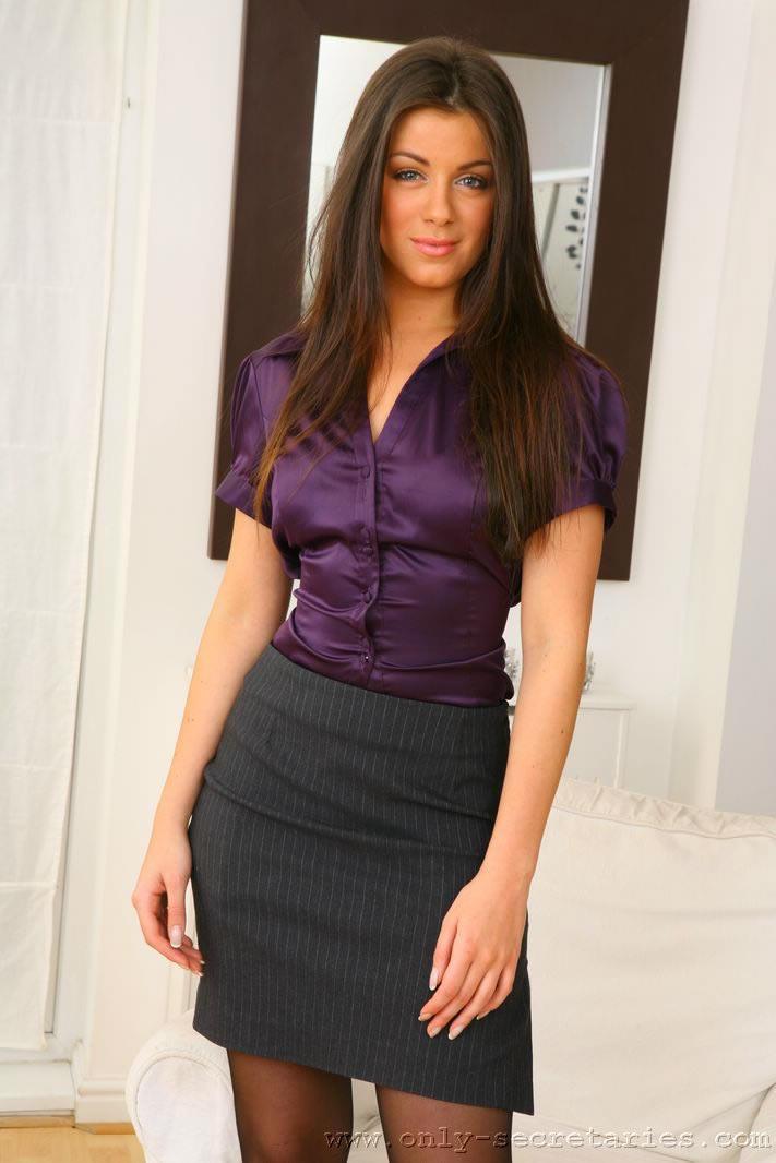 секретарша в платье фото