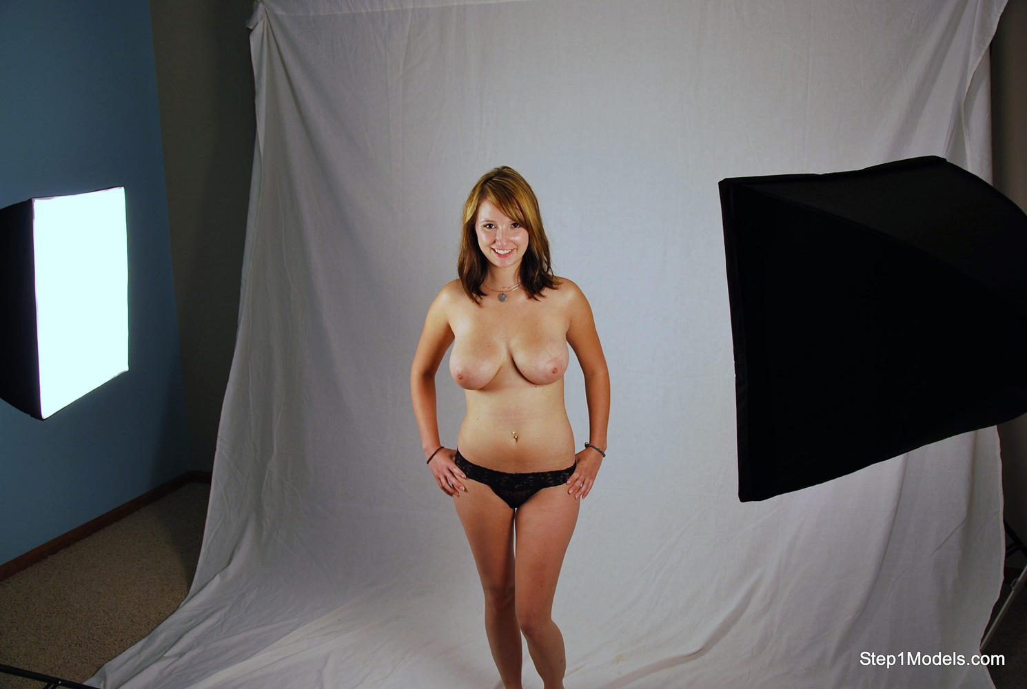 Step 1 Models features real amateur girls shooting for the first time ...