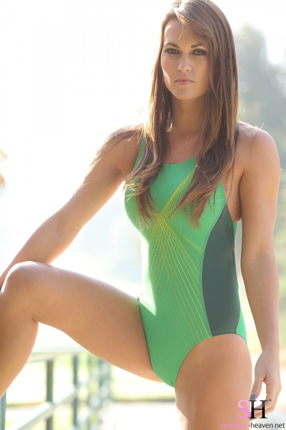 japanese tight one piece swimsuits tease
