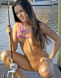Teen katie fishing strip
