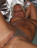 Sexy canadian girls ashleigh chain bikini