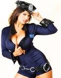 Denise milani sexy cop