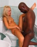 Sabrina blond interracial sex