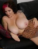 Dors feline leopard sexiness