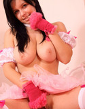 Busty ellen pics pink bunny
