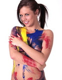 All teens world pics dani scott painted body