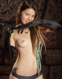 Emily 18 pics long black gloves