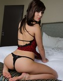 Liz asset pics red hot tease