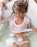 Nikki sims pics wet tee