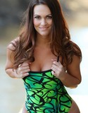 Swimsuit heaven pics morgan green