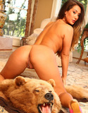 Eva lovia pics eva bears it all