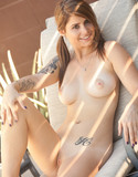 Hailey leigh pics lawn chair