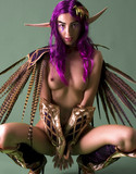 Cosplay erotica pics angela purple passion