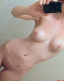Sweet apples lauren naked in mirror