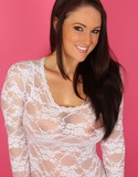 Alluring vixens lauren ashley white lace