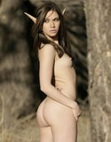 Bare maidens atoka in the ferrus woods