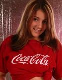 Kara's handfull coca-cola big tits