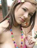 Selina 18 nude at park